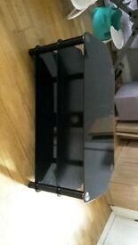 TV STAND BLACK £25