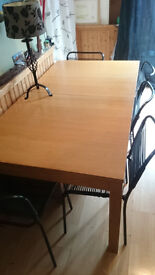 Large, extendable, dining room table