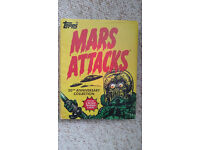 Topps Trading Cards Sci-Fi Mars Attacks Collectables Book