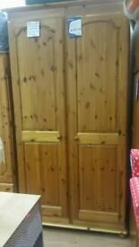 Large cordell pine wardrobe