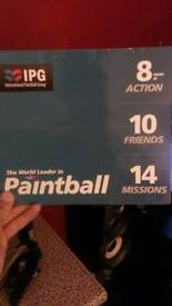 Paintball tickets for 10