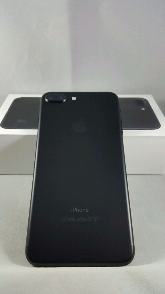 Apple iPhone 7 Plus 32GB Jet Blackin Larkhall, South LanarkshireGumtree - Apple iPhone 7 Plus 32GB Jet Black UNLOCKED for sale. Great phone, only a few months old, still under warranty (receipts included). Made the swap from android to apple with this phone but now Im missing android and want a pixel phone forthe camera so...
