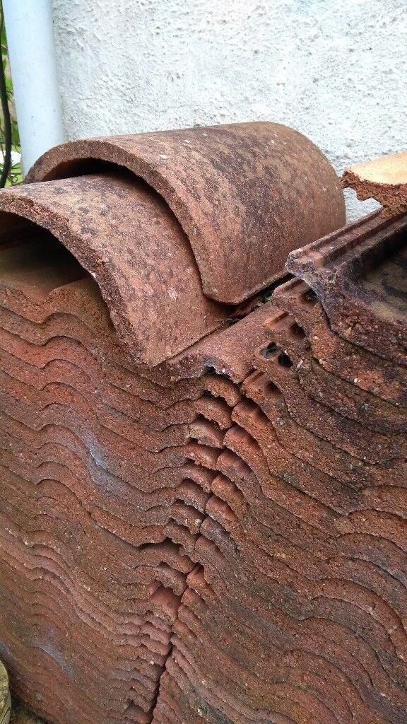 Redlands Reclaimed Double Roman Roof Tiles   in Henbury ...