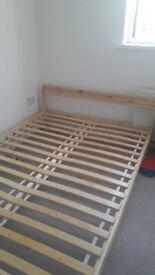 Double ikea bed