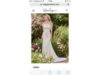 Beautiful brand new Rebecca Ingram Linda wedding dress size 14-16