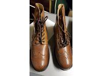 Mens brogue boots size 12
