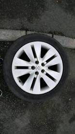 "18"" renault alloys for sale swap for 16 or 17"""