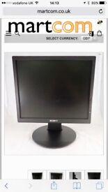 """Sony S76F 17"""" TFT LCD MONITOR"""