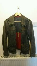 Superdry women's leather jacket