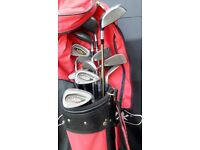 Wilson Golf club set and accessories