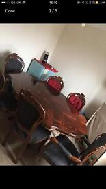 Italian table and chairs