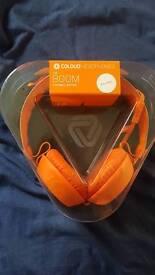 Coloud headphones (orange)