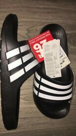 Adidas sliders brand-new with tags size 6