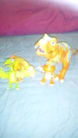 Interactive Dinosaur train dinosaurs