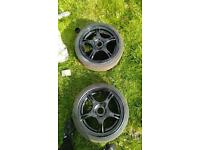 """Set of 4 16"""" alloy wheels 5x100"""