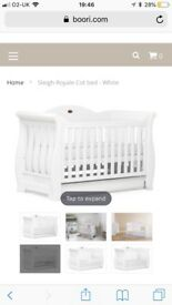 Boori Royale Sleigh Nursery Set