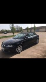 Full Leather Audi A3 Cabriolet S-Line