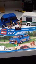 Lego City caravan