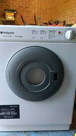 Hotpoint 4kg tumble dryer first edition used