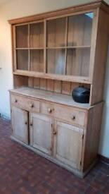 Pitch Pine Kitchen Dresser