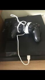 PS4 for sale with 1 controller, a headset all the wires and great games!!!