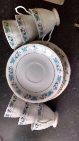 China Tea set and side plate