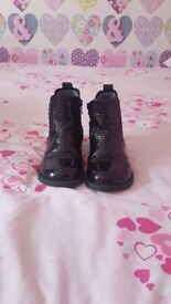 Next Girls Black Boots