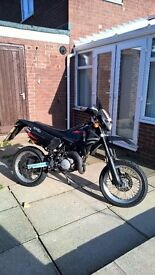 Aprilia mx50 learner legal supermoto