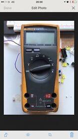 Fluke 21 Series 3 and leather fluke case