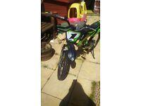 """20"""" wheel push bike that looks like a motor bike"""