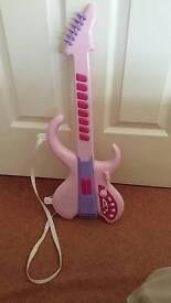 Pink you guitar.