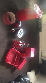 Red kitchen stuff