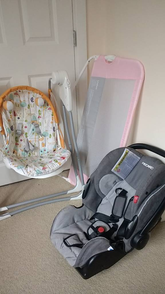 Rocker, carseat and bed guard FREE