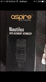 Aspire atomizers