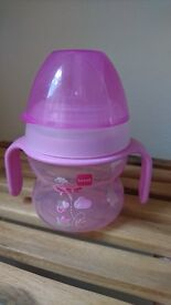 Baby cup (MAM Starter Cup), 4+ Months, Pink