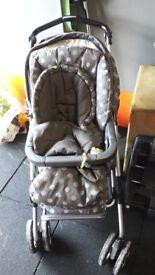 Mamas and Papas buggy, cot and car seat