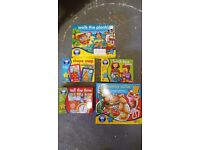 Selection of Orchard Toy games