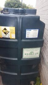 titan oil tank like new