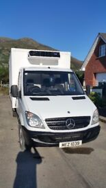 MERCEDES SPRINTER 311 CDI FRIDGE BOX 2007 reg Full MOT Great condition