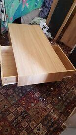 Brand new oak tv uint £100