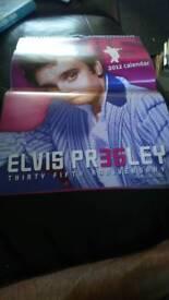Elvis presley calendar 2012