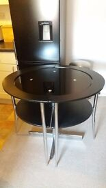 Space Saving Dining Table & Chairs
