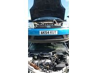 FORD FIESTA LX SEMI-AUTO 2004- FOR PARTS ONLY