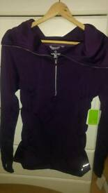 New with tagsFit and powerful jacket purple womens S