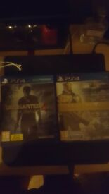 ps4 games uncharted 4 and destiny