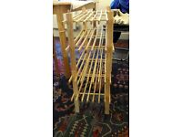 FREE argos wooden shoe racks (Collection only)