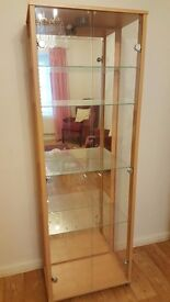 Lighted Display cabinet £150
