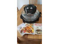 Halogen cooker with 3 cookbooks . £20 ono