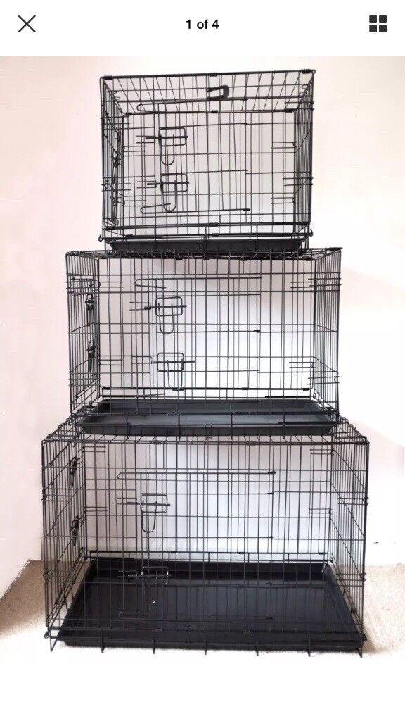 Dog puppy training travel fold up cage
