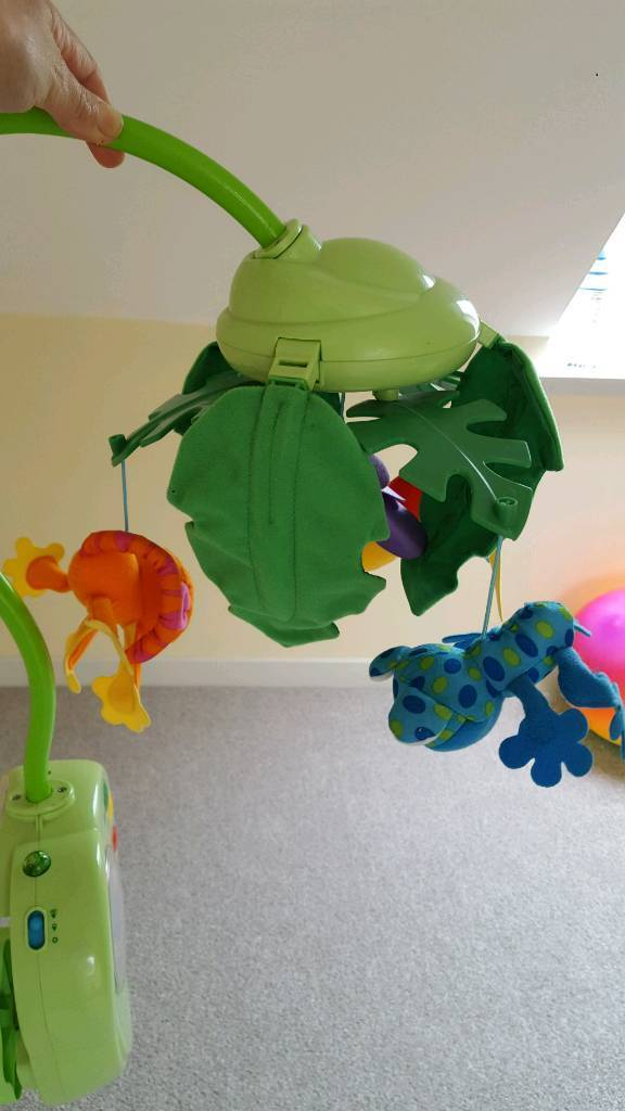 Cot mobile from Fisher price